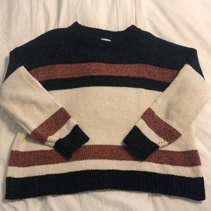 The Mint Striped Sweater